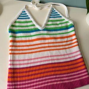 Tops - Knit halter top